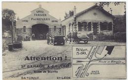 Garage Parisien Paul DEVARS Route De Biarritz St Léon - Ohne Zuordnung