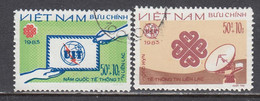 Vietnam 1983 - (2) World Communication Year, Mi-Nr. 1381/82, Used - Vietnam