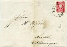 (Lo4665) Brief DR  St. Hanau N. Suhl - Lettere