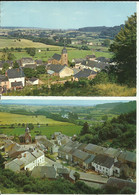 Chassepierre -- 2 Cartes - Panorama.  (2 Scans) - Chassepierre