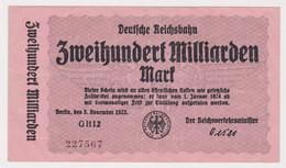 DEUTSCHLAND, Deutsche Reichsbahn Berlin, 200 Milliarden Mark - Other