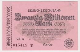DEUTSCHLAND, Deutsche Reichsbahn Berlin, 20 Billionen Mark - Other