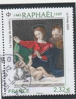 FRANCE 2020 - RAPHAEL OBLITERE YT 5396 - Used Stamps