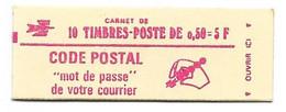 Carnet Fermé 1664C7 Cote 17 - Definitives