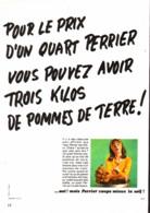 """PUB  """" PERRIER  """"    1969  ( 12 ) - Perrier"""