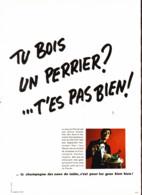 """PUB  """" PERRIER  """"    1969  ( 14 ) - Perrier"""