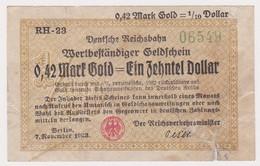 DEUTSCHLAND, Deutsche Reichsbahn Berlin, 0,42 Pfennig - Other