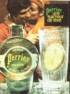 """PUB  """" PERRIER  """"    1969  ( 18 ) - Perrier"""