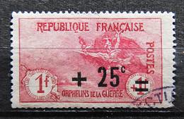 France 1922 - N°168 - Orphelins De La Guerre - Used Stamps