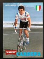 Marco Franco Votolo - Carrera - 1989 - Carte / Card - Cyclists - Cyclisme - Ciclismo -wielrennen - Cycling