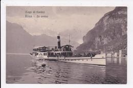 CP ITALIE Lago Di Garda RIVA In Arrivo - Andere Städte