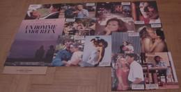 AFFICHE CINEMA ORIGINALE FILM UN HOMME AMOUREUX + 12 PHOTOS EXPLOITATION KURYS COYOTE CURTIS LINDON 1987 - Posters