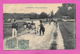 CPA Seine Et Oise VALENTON Retour Des Champs 1907 - Valenton