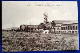 Carte Postale Ancienne -L.P Haisnes La Bassée -Fosse 6 - Bergbau
