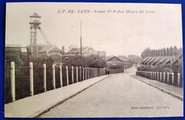 Carte Postale Ancienne - L.P 62 -LENS- Fosse N°9 Des Mines De Lens - Mijnen