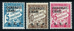 Ubangui (Francés) Nº Tasa-1/2-4 Nuevo* - Ongebruikt