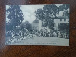 Carte Assez Rare De 1908 , Joze , Fête Sportive à Joze ( P.-d-d. ) 2 Août 1908 - Andere Gemeenten