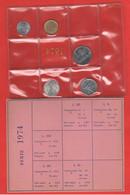 Italia Repubblica Serie 1974 Con 5 10 20 50 100 Lire Emessa Da Privati  UNC Coin - Unclassified