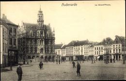 CPA Oudenaarde Ostflandern, La Grand' Place - Other
