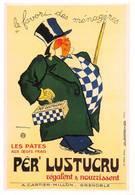 Publicité Lustucru Illustrateur Dransy Forney 1999 - Advertising