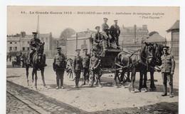 BOULOGNE-sur-MER - Ambulance De Campagne Anglaise - Boulogne Sur Mer
