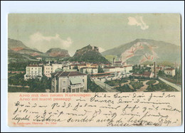 U6133/ Italien Arco Mit Den Neuen Kuranlagen 1904 AK - Unclassified