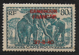 CAMEROUN 1940 YT 221** - SURCHARGE ROUGE - Nuevos