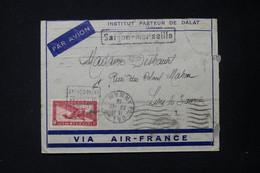 INDOCHINE - Enveloppe De L 'Institut Pasteur De Dalat Pour La France Par Avion En 1936 - L 84245 - Storia Postale