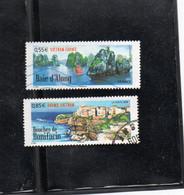 """Timbres N° 4284 / 4285 """" Paysages De France Et Du Vietnam """"  Année 2008 - Usati"""