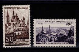 YV 916 & 917 N** Monuments 1951 Cote 13 Euros - Neufs
