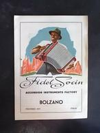 TRENTINO ALTO ADIGE -BOLZANO -CATALOGO FISARMONONICHE SIUSI -F.G.  LOTTO N°746 - Bolzano (Bozen)