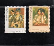 "Timbres N° 4406 / 4407 "" Pierre Auguste Renoir ""  Année 2009 - Usati"