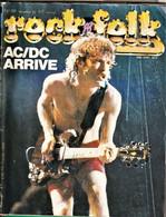 Rare Revue Rock Folk N°191 Décembre 1982 AC/DC Arrive - Altri Oggetti