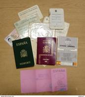 Passport And Others Ducument - Documentos Históricos