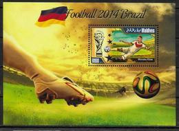MALDIVES BF ( 2014 ) * *  Cup 2014  Football  Soccer Fussball - 2014 – Brazilië
