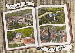 ST-AFFRIQUE (Aveyron): Carte Multivues - Saint Affrique