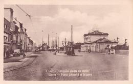 LIER / LEOPOLDPLEIN EN STATION / LA GARE - Lier