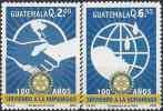 2005 GUATEMALA 546-47** Rotary - Guatemala
