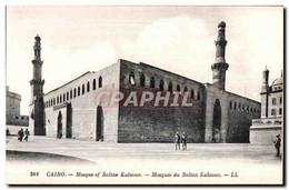 CPA Cairo Mosque Of Sultan Kalaoun Mosquee Du Sultan Kalaoun - Unclassified