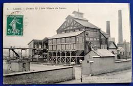 Carte Postale Ancienne  - LENS -Fosse N°1 Des Mines De Lens - Mijnen
