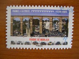 France  Obl  N° 1468 Cachet Rond Bleu - Autoadesivi