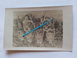 1915 Flandres Flandern 1er Régiment De Zouaves Alger Afrique Troupes Coloniales 14-18 Tranchée Poilu Photo Ww1 - War, Military