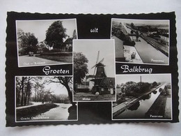 041 Ansichtkaart Groeten Uit Balkbrug - 1963 - Andere