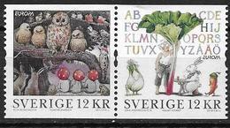Suède 2010 N°2715/2716 Neufs En Paire Europa Livres Pour Enfants - Nuevos