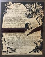 Dîner Du BON BOCK. 8e Année. 1882 - Menú