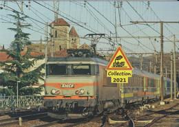 667 -  BB 7200 Et Train Corail Téoz, à Port-Ste-Marie (47)  - - Eisenbahnen
