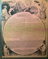 Dîner Du BON BOCK. 10e Année. 1884 - Menú