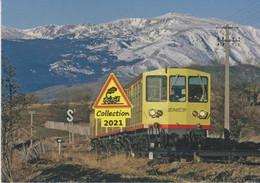 669 -  Automotrices Z108 Et Z111 Du Canari, Vers Saillagouse (66)  - - Eisenbahnen