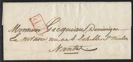 France - Marcophilie - 44 Loire Atlantique  - Nantes Lettre De Saint Herblain Pour Nantes LAC 14 Octobre 1840 Cachet >>> - 1801-1848: Precursors XIX