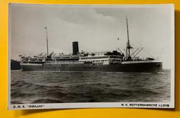 13057 - D.M.S Sibajak N.V. Rotterdamsche Lloyd - Paquebote